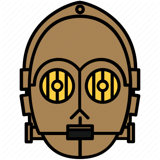 Droid, Robot, Star Wars Icon
