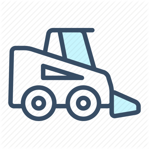 Bobcat, Building, Business, Construction, Digger, Loader, Vehicle Icon