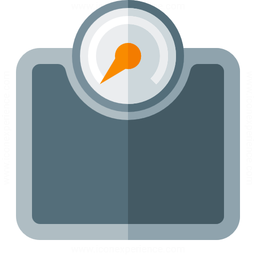 Iconexperience G Collection Body Scale Icon