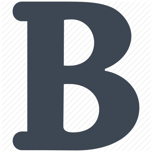Bold, Font, Text Icon