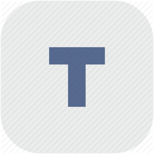 Bold, Format, Letter, Rounded, Square, Text, Weight Icon