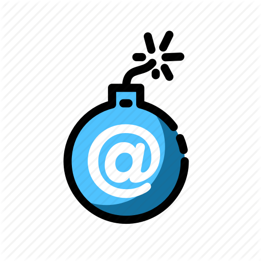 Bomb, Email Icon