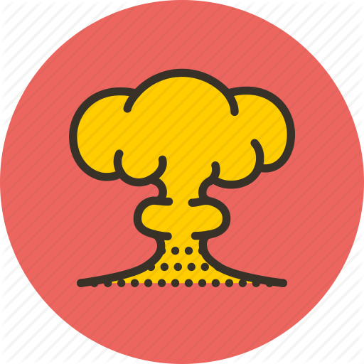 Explosion, Bomb, Yellow, Transparent Png Image Clipart Free Download