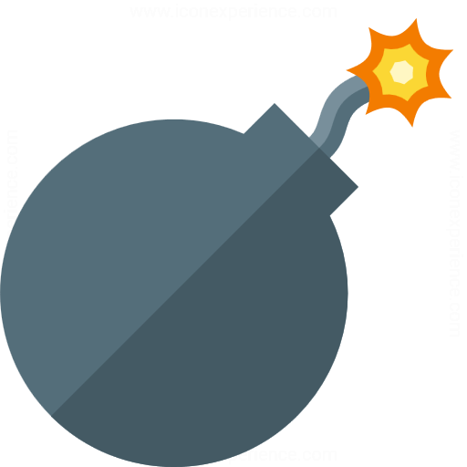Iconexperience G Collection Bomb Icon