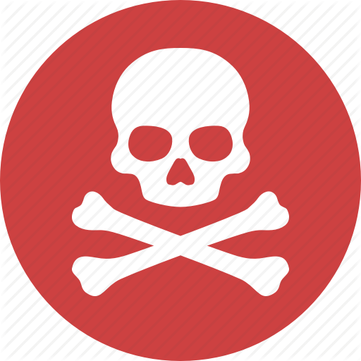Skull, Illustration, Red, Transparent Png Image Clipart Free