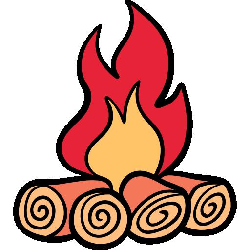 Bonfire Icon Winter Season Freepik