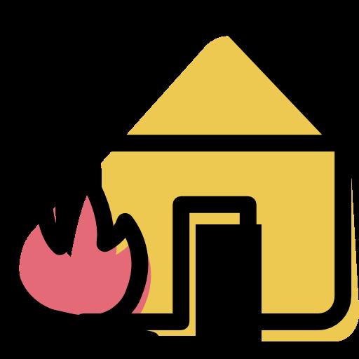 Shelter, Bonfire, House Icon