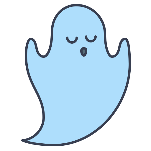 Boo, Ghost Icon Free Of Trick Or Treat