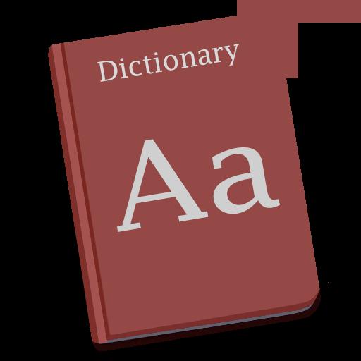 Dictionary Icon Yosemite Flat Iconset Dtafalonso