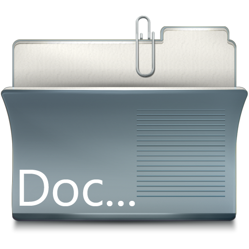 Folder, Doc Icon Free Of Imod Icons