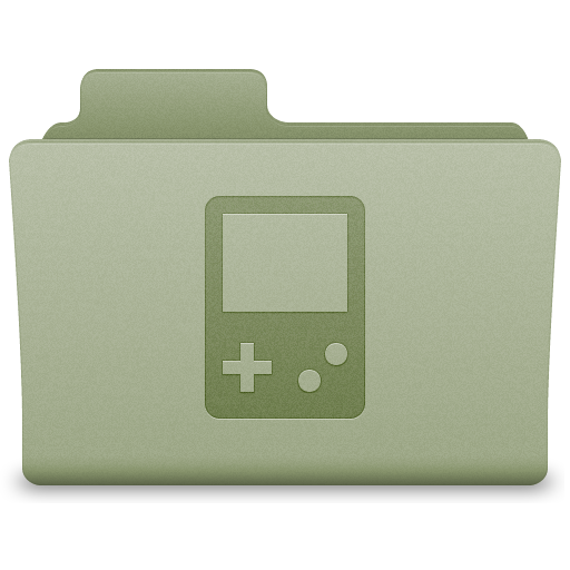 Green Games Folder Icon