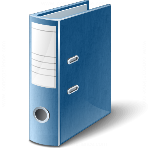Iconexperience V Collection Folder Blue Icon