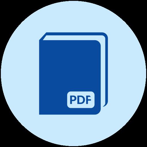 Pdf, Book Icon Free Of Books Reading Icons
