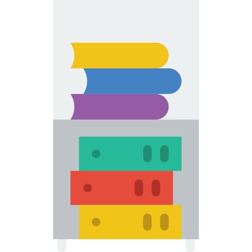 Bookshelf Icon Business Smashicons