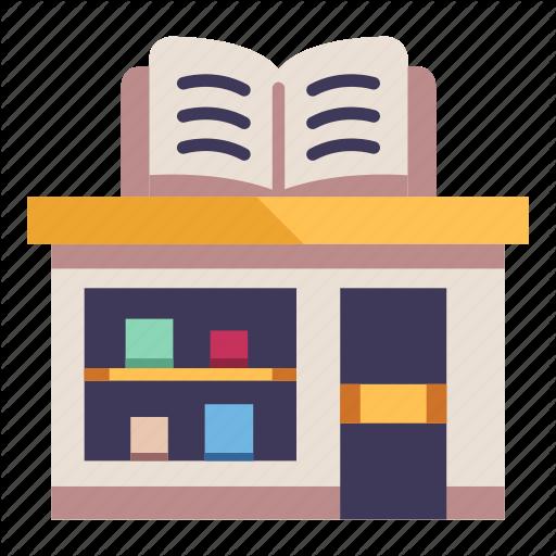 Architecture, Book, Bookstore, Building, City, Shop, Store Icon