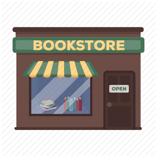 Book, Bookstore, Building, Sale, Shopping, Signboard, Windy Icon