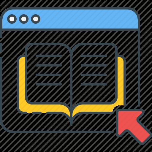 Bookstore, Digital, Document, Ebook, Online, Pdf, Study Icon