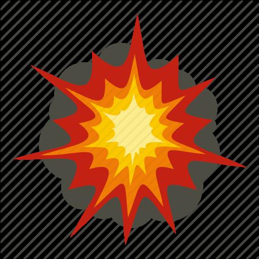 Blast, Bomb, Boom, Burst, Effect, Explode, Fire Explosion Icon