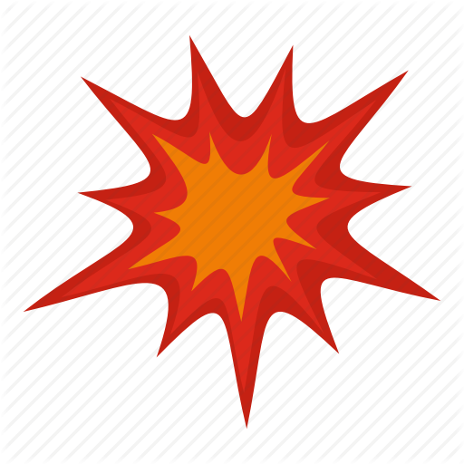Blast, Bomb, Boom, Burst, Effect, Explode, Heavy Explosion Icon
