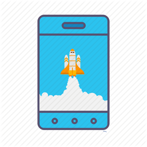 Boost, Business, Growth, Launcher, Marketing, Mobile, Rocket Icon