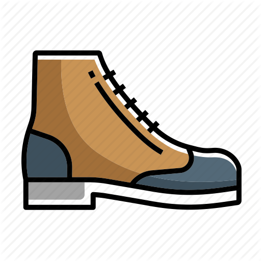 Boot, Boots, Fashion, Foot Wears, Shoes, Wingtip, Wingtip Boot Icon