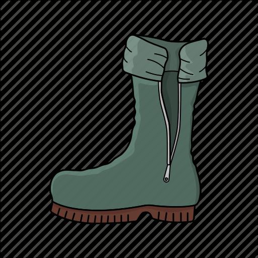 Boot, Sailor Boot, Walk, Wear Icon
