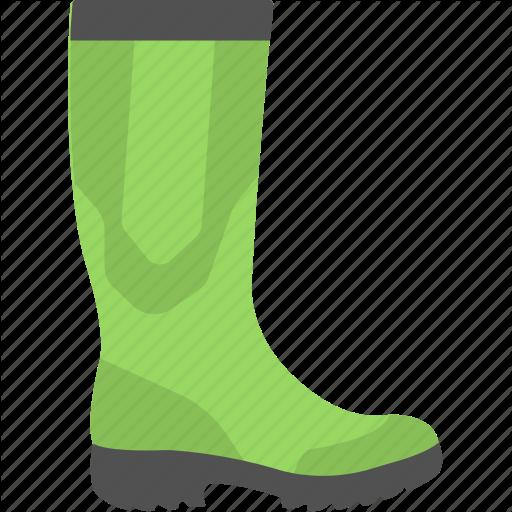 Farmer Boot, Gumboot, Rainboot, Safety Boot, Wellington Boot Icon