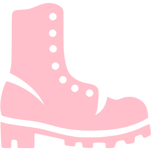 Pink Boots Icon