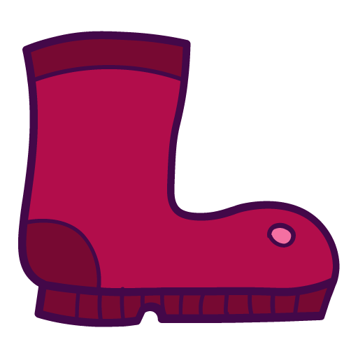 Rubber, Boot Icon Free Of Autumn Hand Drawn