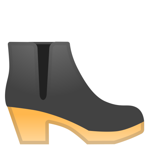 Womans Boot Icon Noto Emoji Clothing Objects Iconset Google