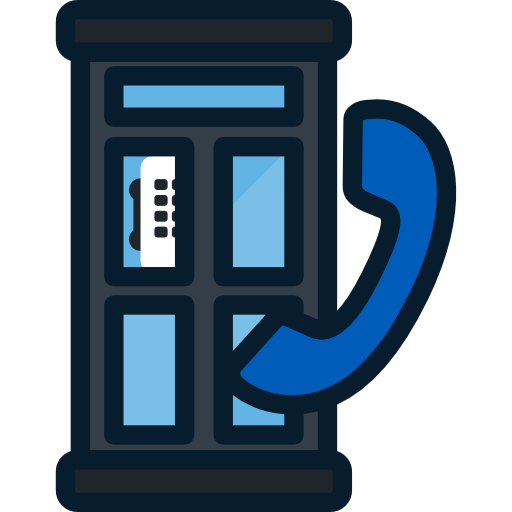 Phone Booth, Communication, Telephone Box Icon