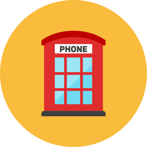 Phone Booth Icon Kameleon Iconset Webalys