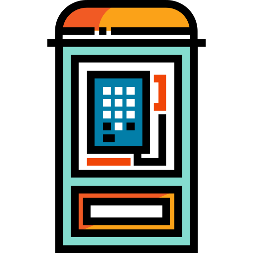 Phone Booth Telephone Box Png Icon