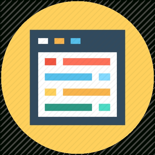 Web Template Icon Template And Paper World
