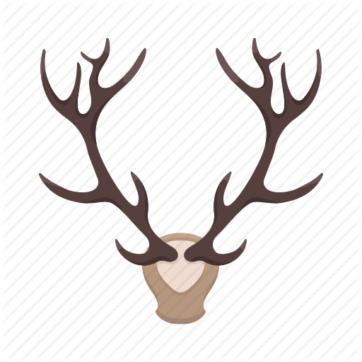 Booty, Deer, Head, Horns, Hunting, Trophy Icon