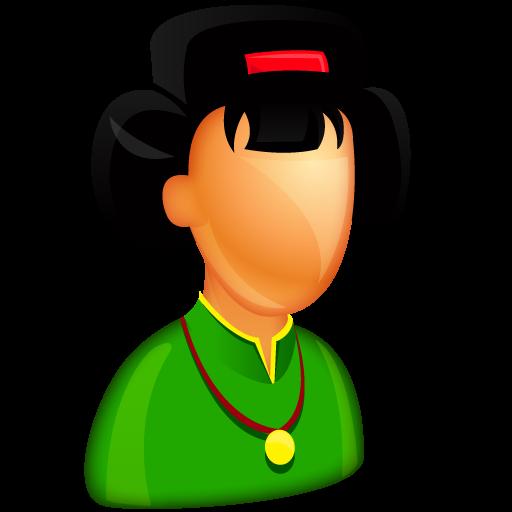 Asian Female Boss Icon Free Large Boss Iconset Aha Soft