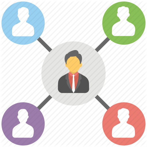 Boss, Manager, Team Head, Team Leader, Team Supervisor Icon