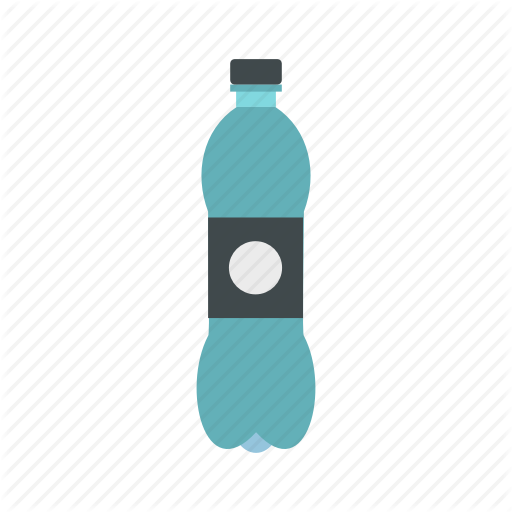 Bottle, Cap, Cold, Drinking, Food, Plastic, Water Icon