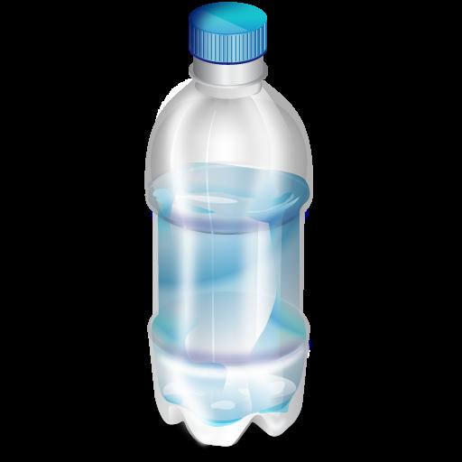Transparent Background Water Bottle