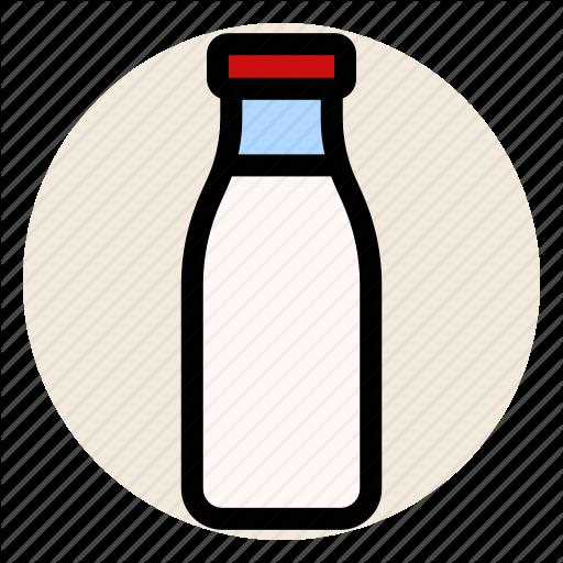Bottle, Breakfast, Dairy, Milk, Milk Bottle Icon