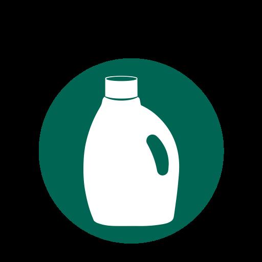 Plastic, Lock, Bottle Icon