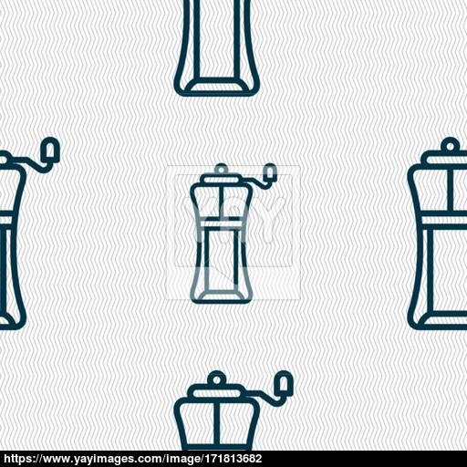 Sports Water Bottle Icon Sign Seamless Pattern With Geometric
