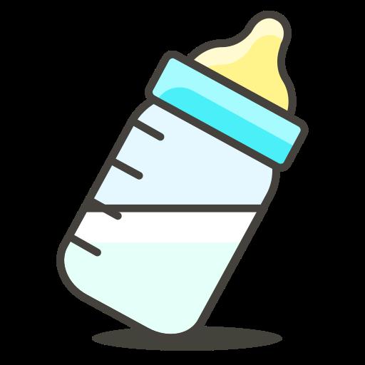 Feeding Bottle, Milk Icon Free Of Another Emoji Icon Set