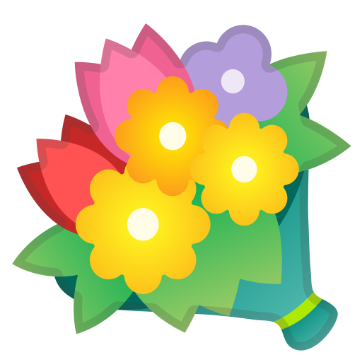 Bouquet Icon Noto Emoji Animals Nature Iconset Google