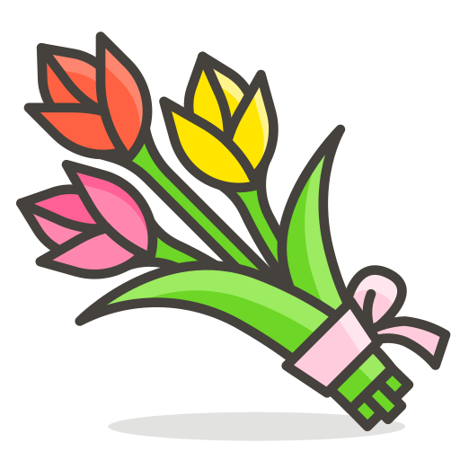 Bouquet Icon Free Of Free Vector Emoji