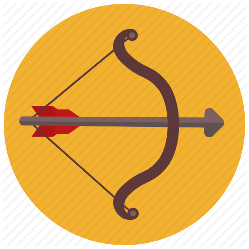 Archery, Arrow, Bow, Horoscope, Sagittarius, Zodiac, Zodiacs Icon
