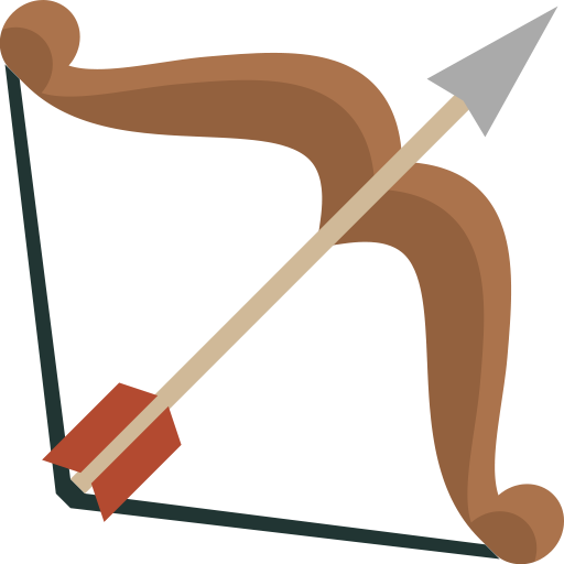 Arrow, Arrows, Hunting, Shoot, Weapon, Bow Icon