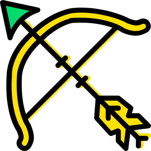 Bow And Arrow Bow Png Icon