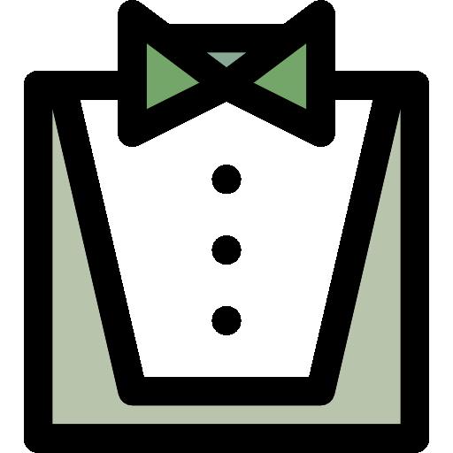 Fashion Bow Tie Flat Icon