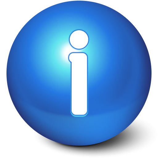 Cute Ball Info Icon I Like Buttons Iconset